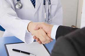 多数の医療機関と連携